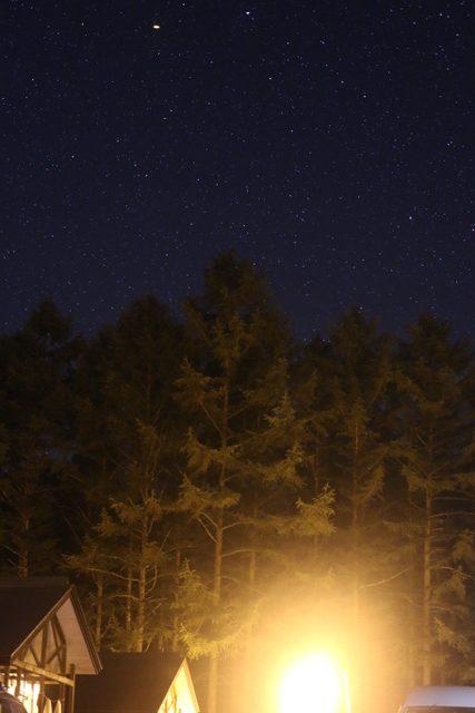 とうもろこしの種まき&ネット張り☆夜は星空