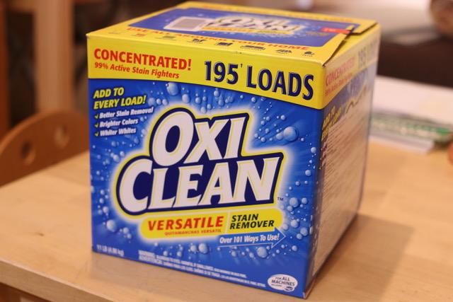 臭い対策には、オキシクリーンが効果あり!