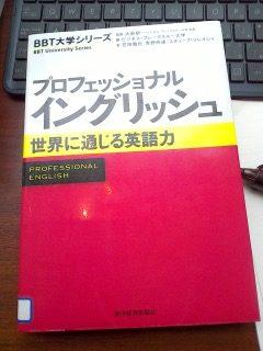 プロフェッショナル イングリッシュ (BBT大学シリーズ)[本のレビュー]