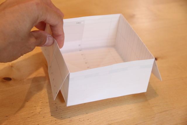 いちばん簡単なゴミ箱(小物入れ)の作り方[コピー用紙や新聞紙で♪]