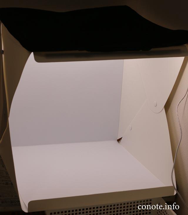 部屋の照明が暗くても大丈夫!折りたたみ式の撮影ボックスが便利だった話