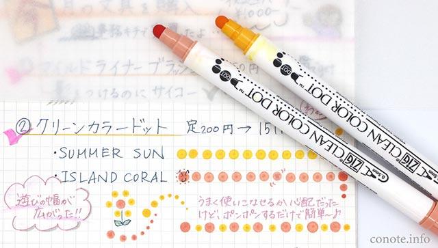 ノートや手帳術を続けるコツ6☆新発売の文具でモチベup大作戦   conote