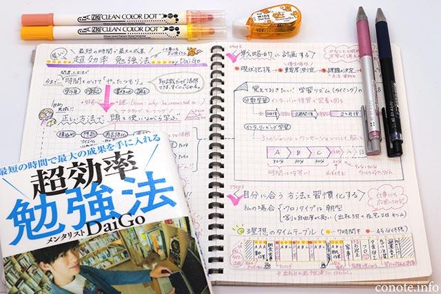 超効率勉強法〜最短の時間で最大の成果〜[DaiGo著]感想&内容まとめ