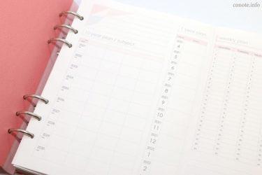 10年逆算計画&1年間・週間予定表[無料テンプレート2021年]