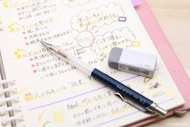 2.5mm方眼の1マスにだって書ける!折れないシャーペン「オレンズ」